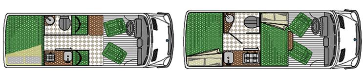 Mini Motorhome Sprinter 415